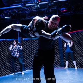 Fight choreography by Cliff Williams III from Girl in the Red Corner - The Welders